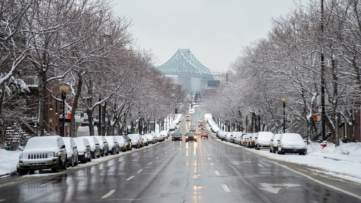 Montreal To Get 4cm Of Snow And Ice Rain This Weekend