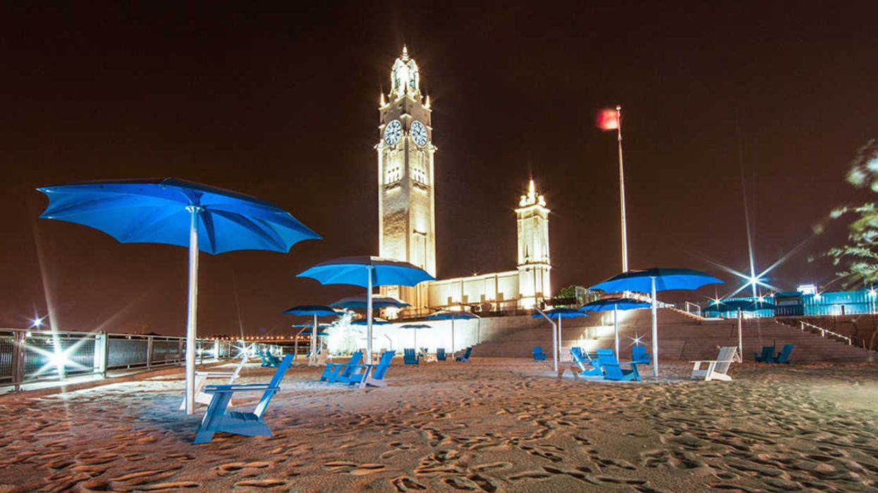 Time Is Running Out To Visit Montreal's Famous Clock Tower Beach Before It Closes For The Summer