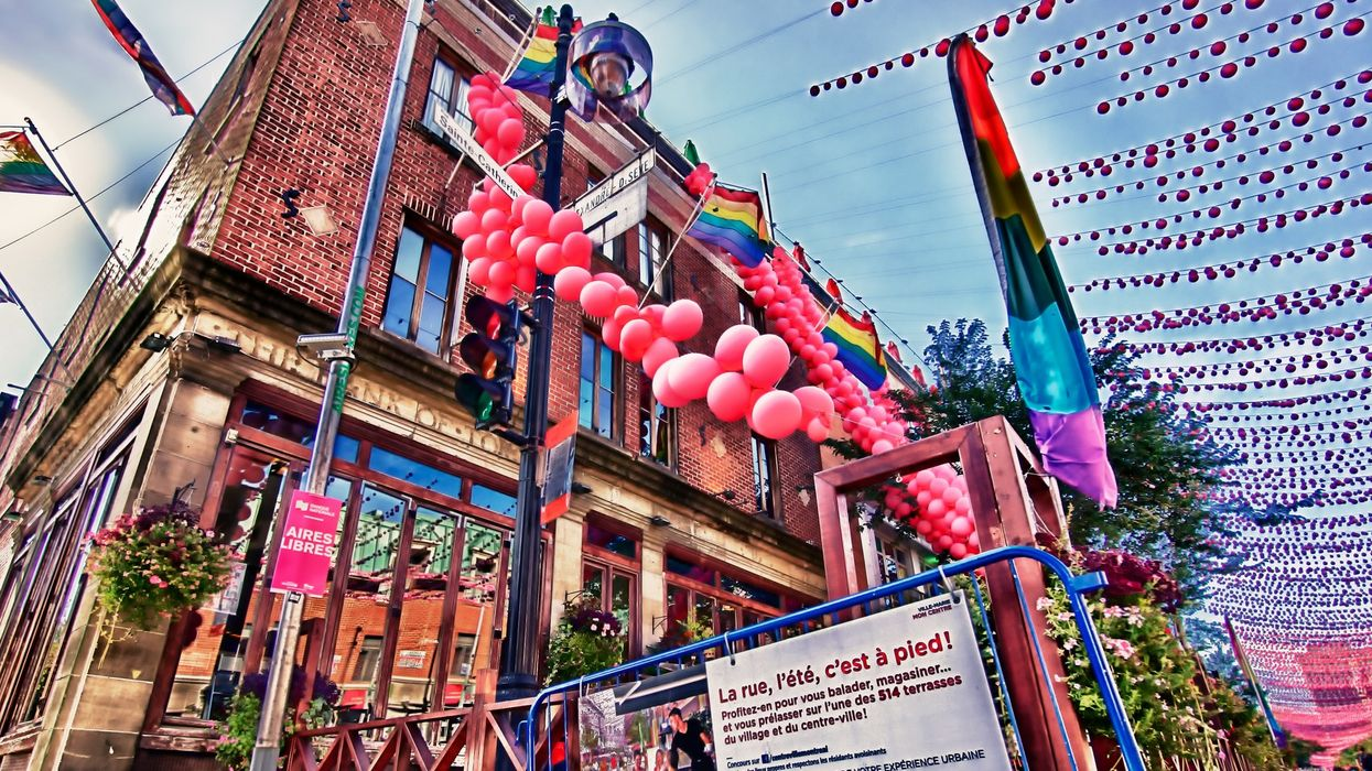 Montreal's Iconic Gay Village Rainbow Balls Are Officially Staying