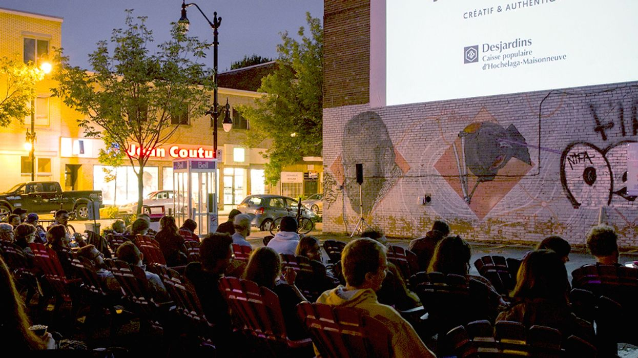 You Can Watch Movies Outdoors For FREE In Montreal This Summer