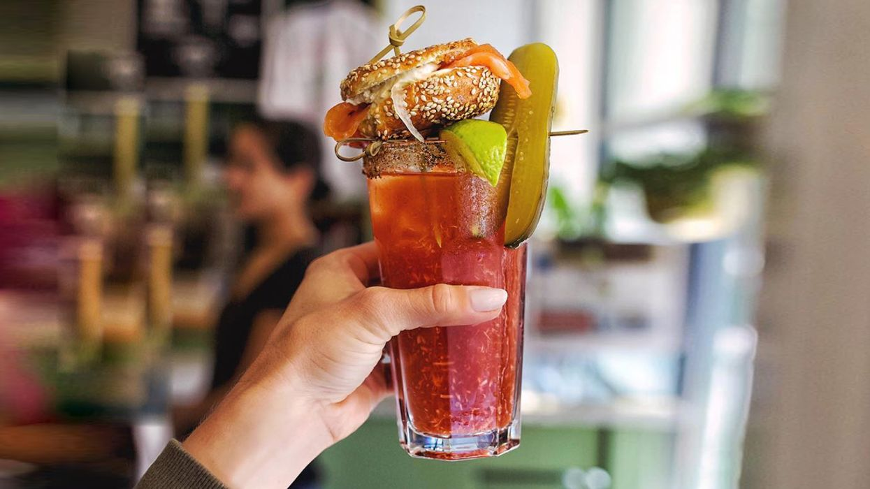 This Brunch Spot Serves The Most Amazing Montreal-Style Caesar You've Ever Seen In Your Life (Photos)