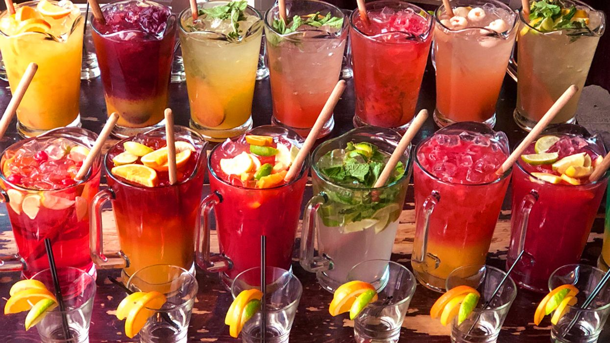 This Montreal Bar Has 17 Different Flavours Of Sangria And You Gotta Go ASAP!