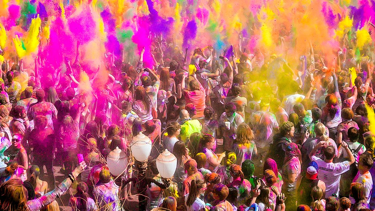 Holi Color Festival Is Coming To Montreal's Old Port This Summer
