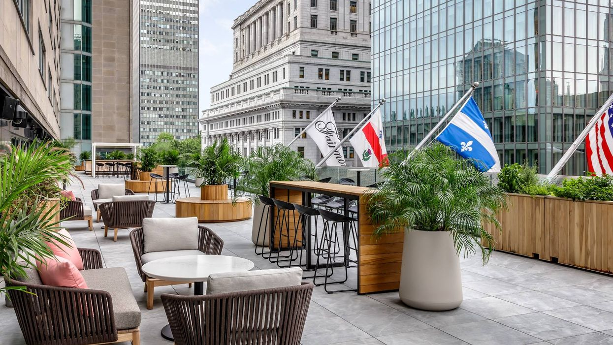 Downtown Montreal Just Got A Brand New Rooftop Terrasse