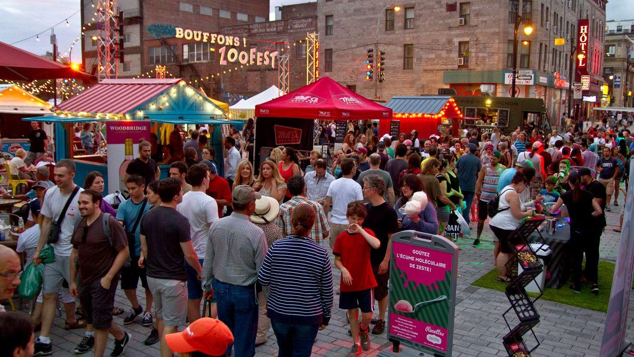 "Montreal's Saint-Catherine Street Is Hosting Massive ""Street Food"" Festival This Summer"