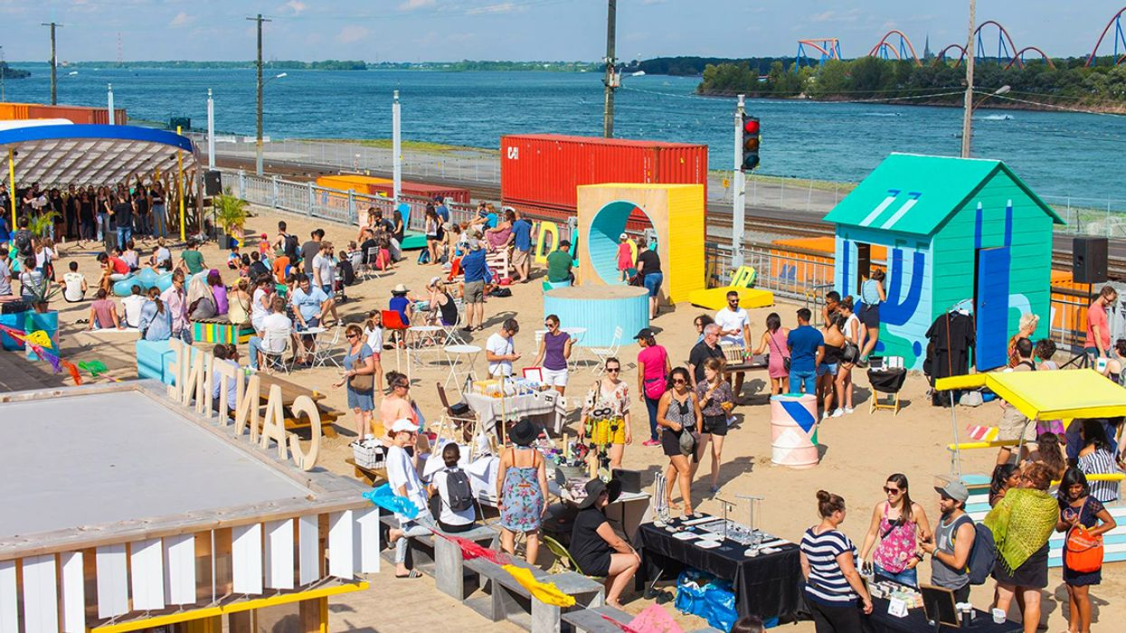 """Montreal Is Getting A Free """"Beach Village"""" Next Month"""