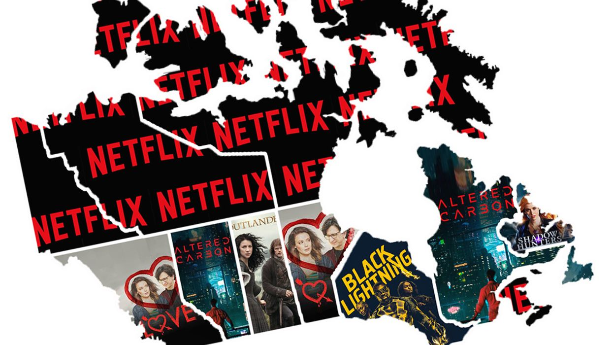 This Netflix Map Shows You The Top 3 Shows Everyone Is Watching In Canada