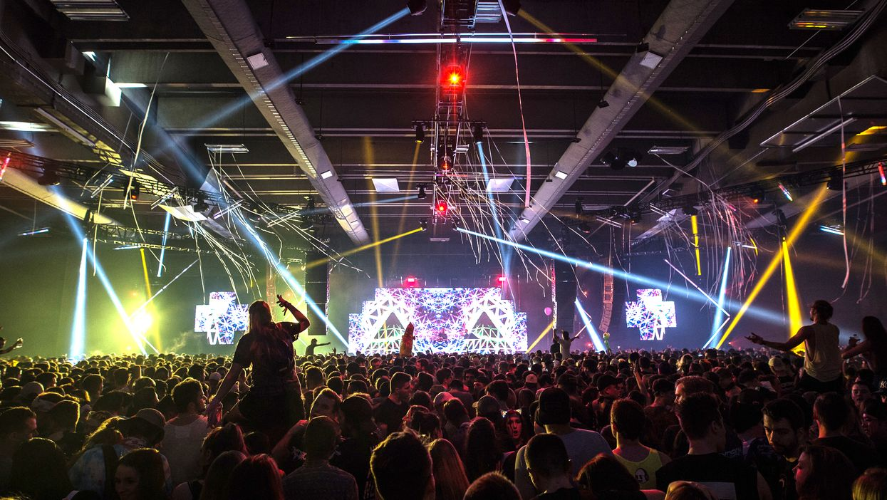 Downtown Montreal Is Hosting A Massive EDM Festival This Weekend