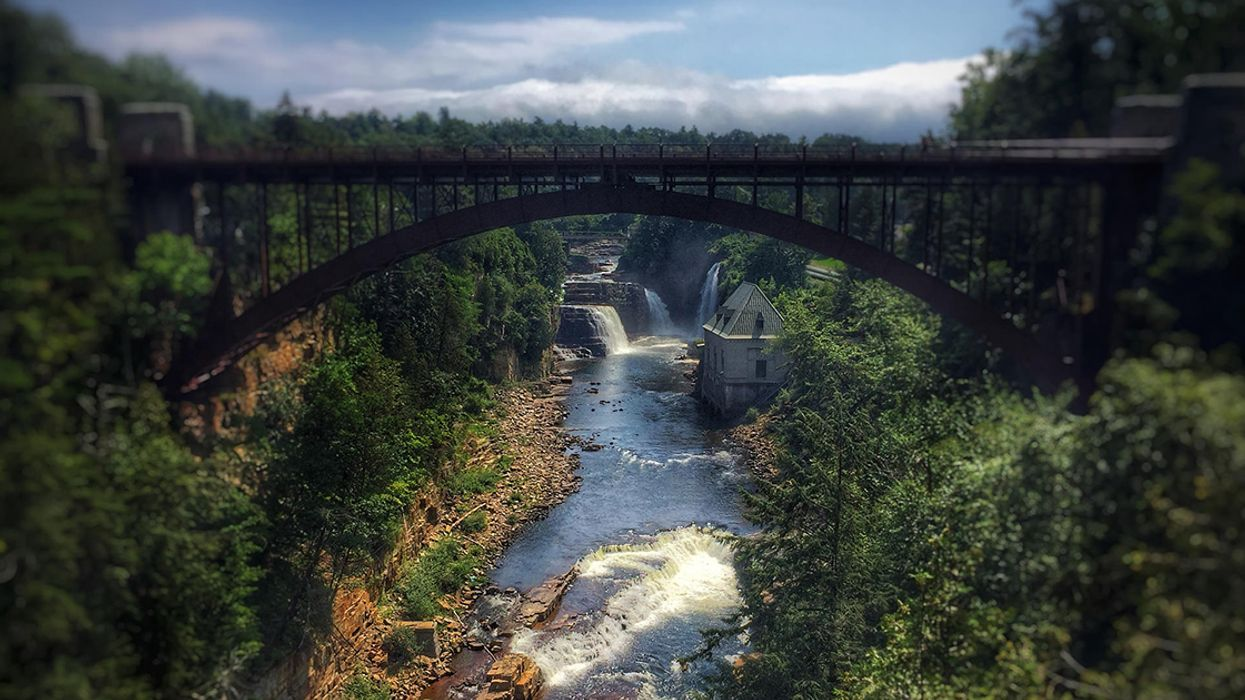 This Stunning Waterfall Is Just Two Hours Away From Montreal