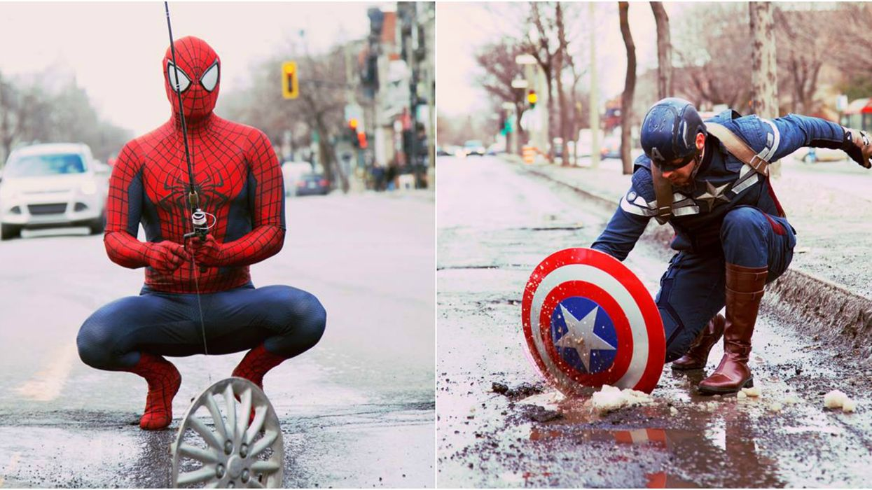 Marvel Superheroes Are Taking Over Montreal (Photos)