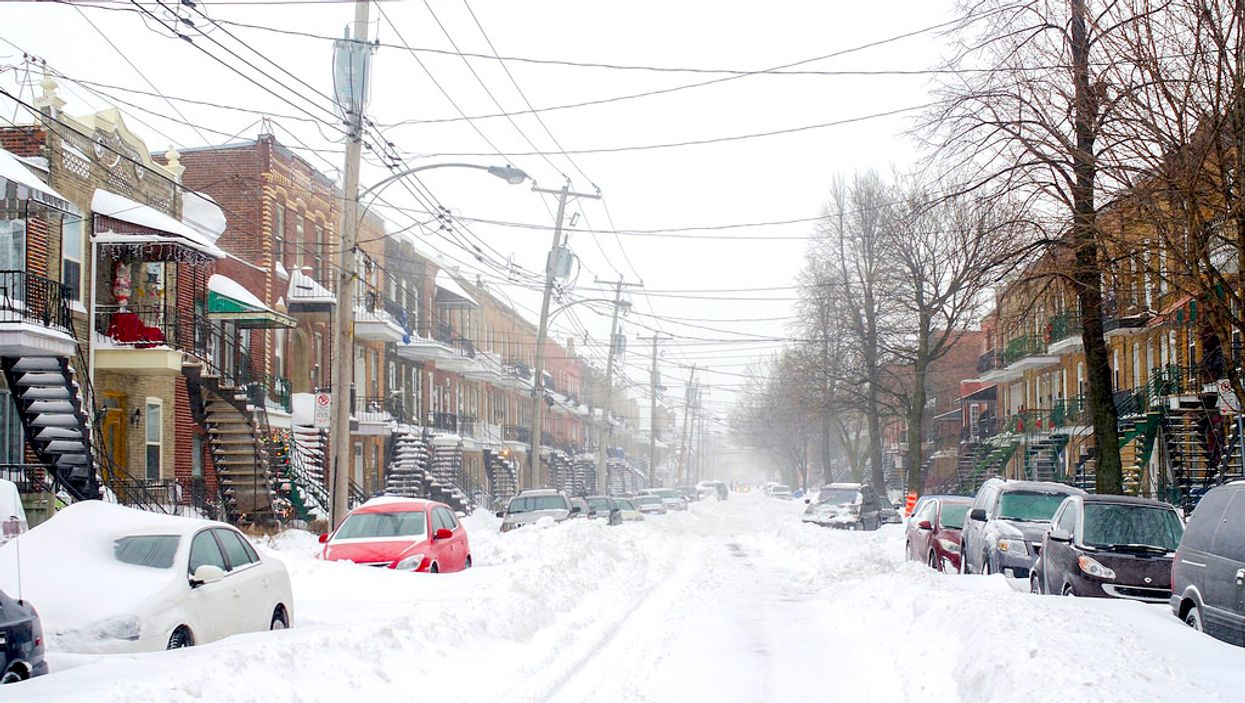 Environment Canada Warning: Montreal To Be Hit By Extreme Blowing Snow