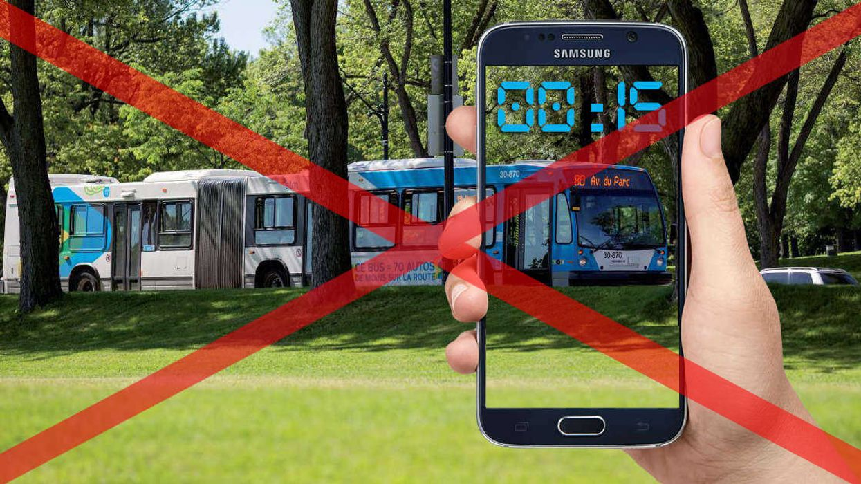 STM Warning: Real Time Mobile App Is No Longer Available