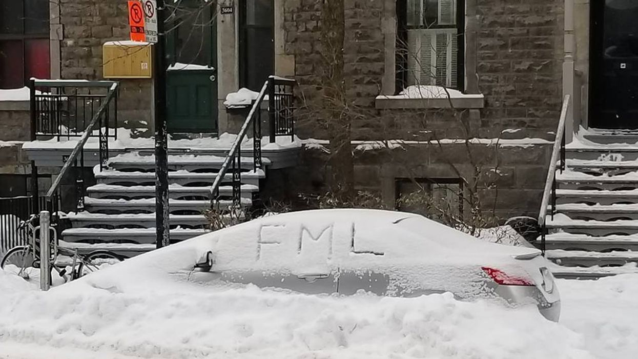 Montreal Has Officially Destroyed Last Year's Total Snowfall Record