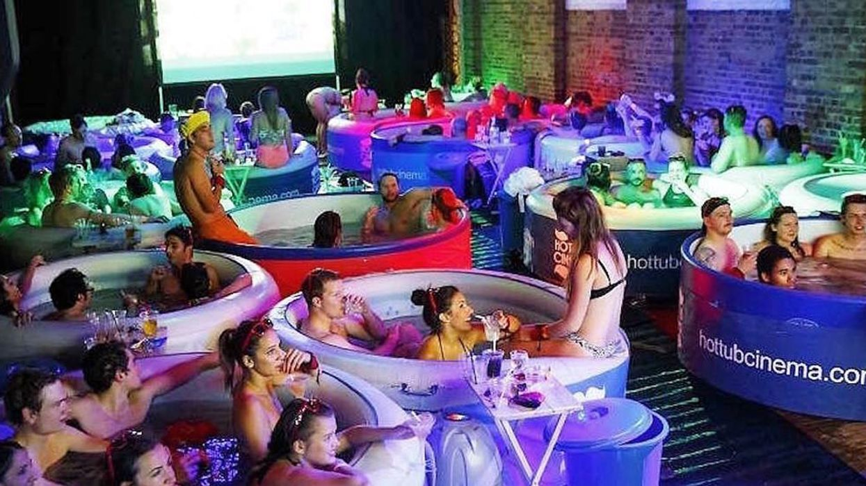 Montreal Is Getting An Outdoor Hot Tub Movie Theater
