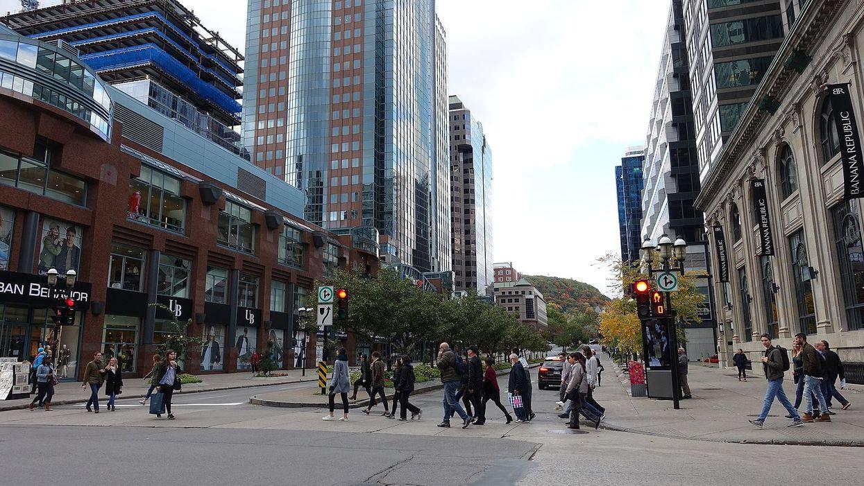 Montreal's Sainte Catherine Street Is Getting Free WiFi