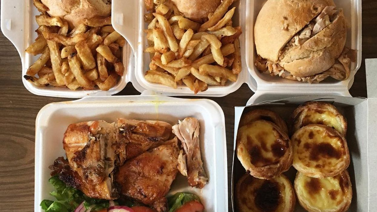 """Montreal Opening All-New """"Portuguese Chicken Sandwich"""" Shop"""