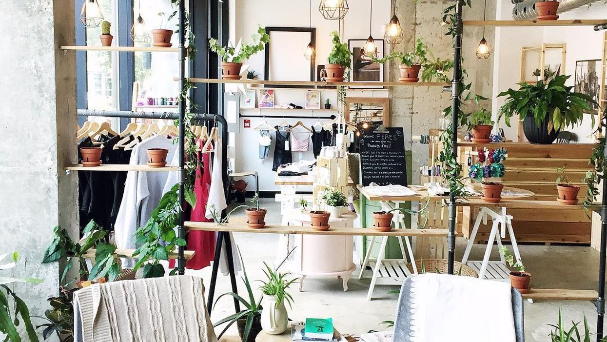 """Montreal's Adorable """"Vegan-Vegetarian"""" Cafe You Gotta Check Out This Fall"""