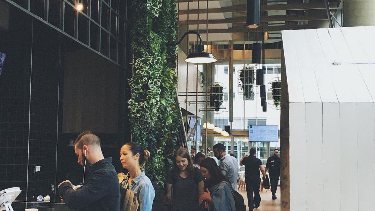 """Montreal Opens All-New """"Indoor Greenhouse"""" Cafe-Bar"""