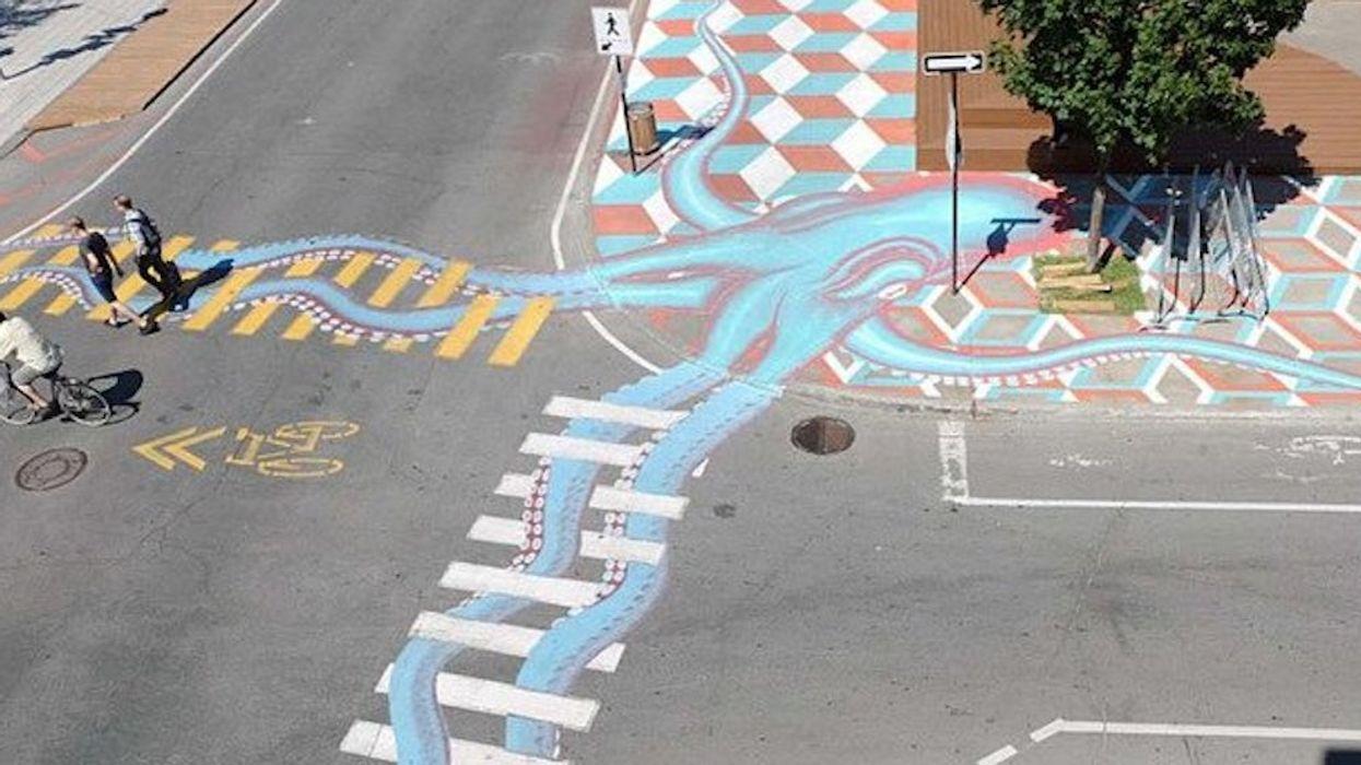 Montreal Is Getting Street Art Bike Lanes