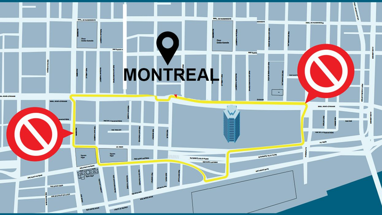 Montreal Is Going To Be A Mess This Weekend, Here's All The Streets You Need To Avoid