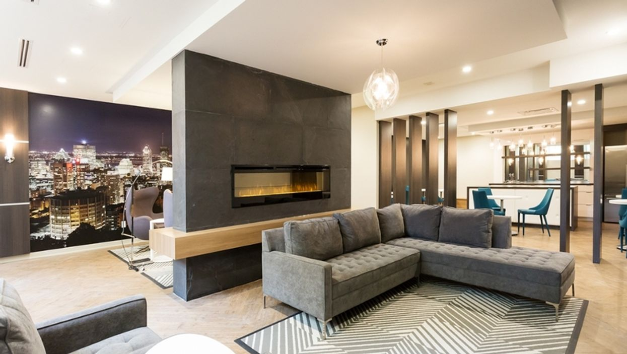 A Look Inside Downtown Montreal's All-Inclusive Apartment Building