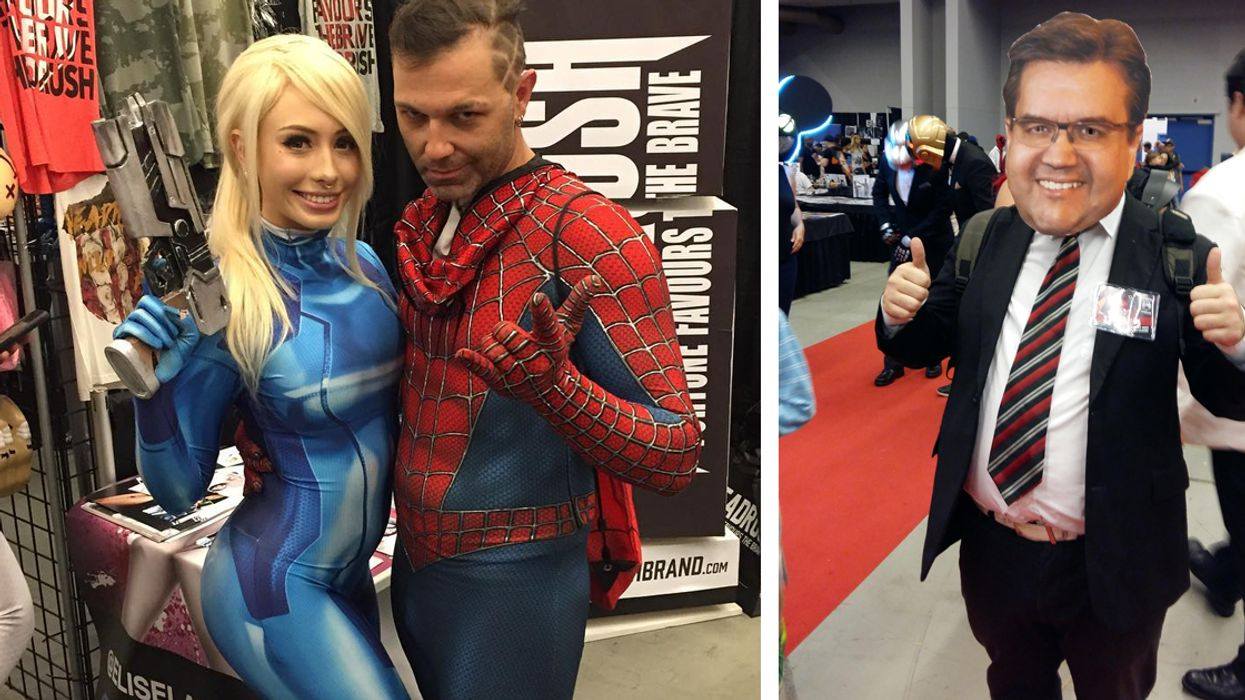 All The Photos From Montreal's Comiccon 2017 You Need To See To Believe
