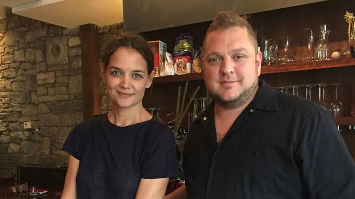 Katie Holmes Spotted In Montreal