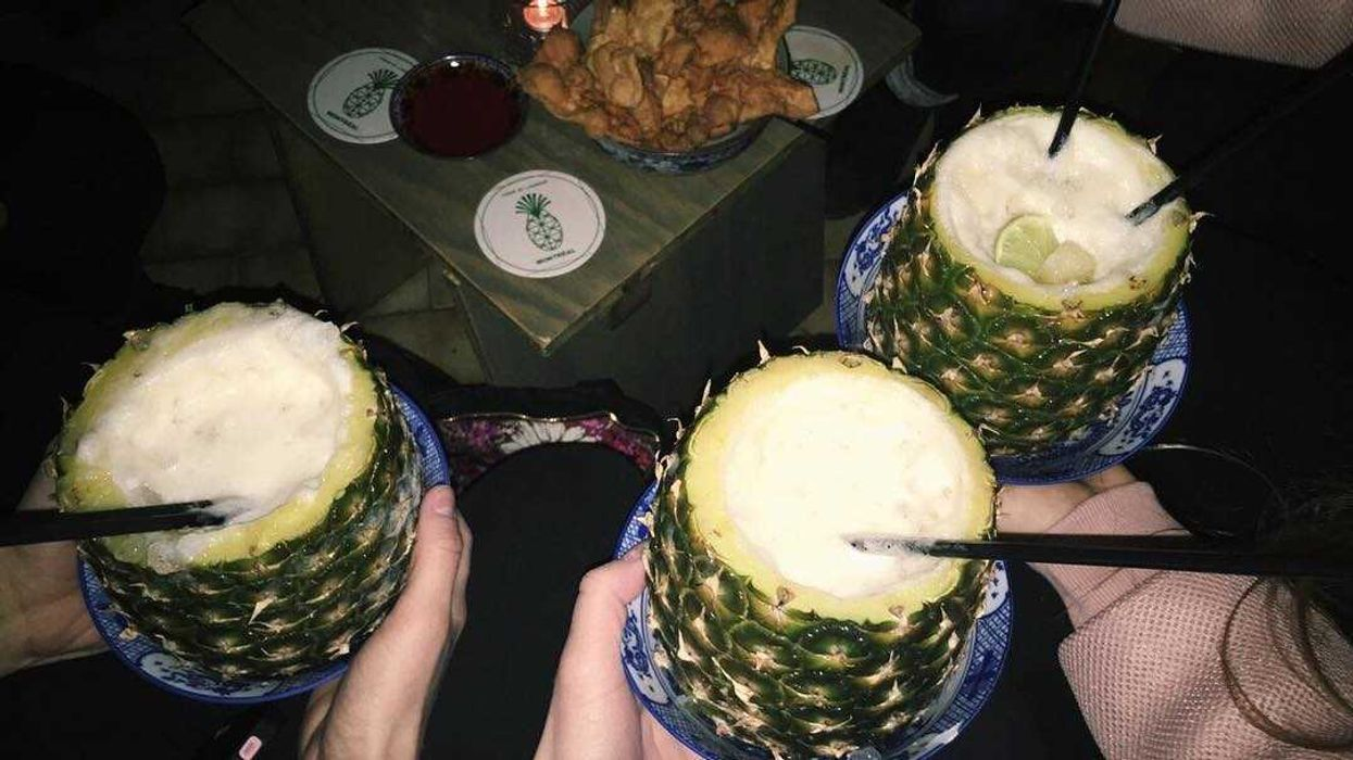 """This Montreal Bar Serves """"Pineapple Drinks"""" And They're Exactly What You Need To Get Tipsy"""