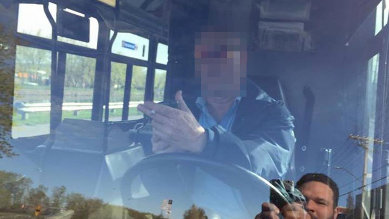 Montreal STM Driver Spotted Smoking While Driving Bus