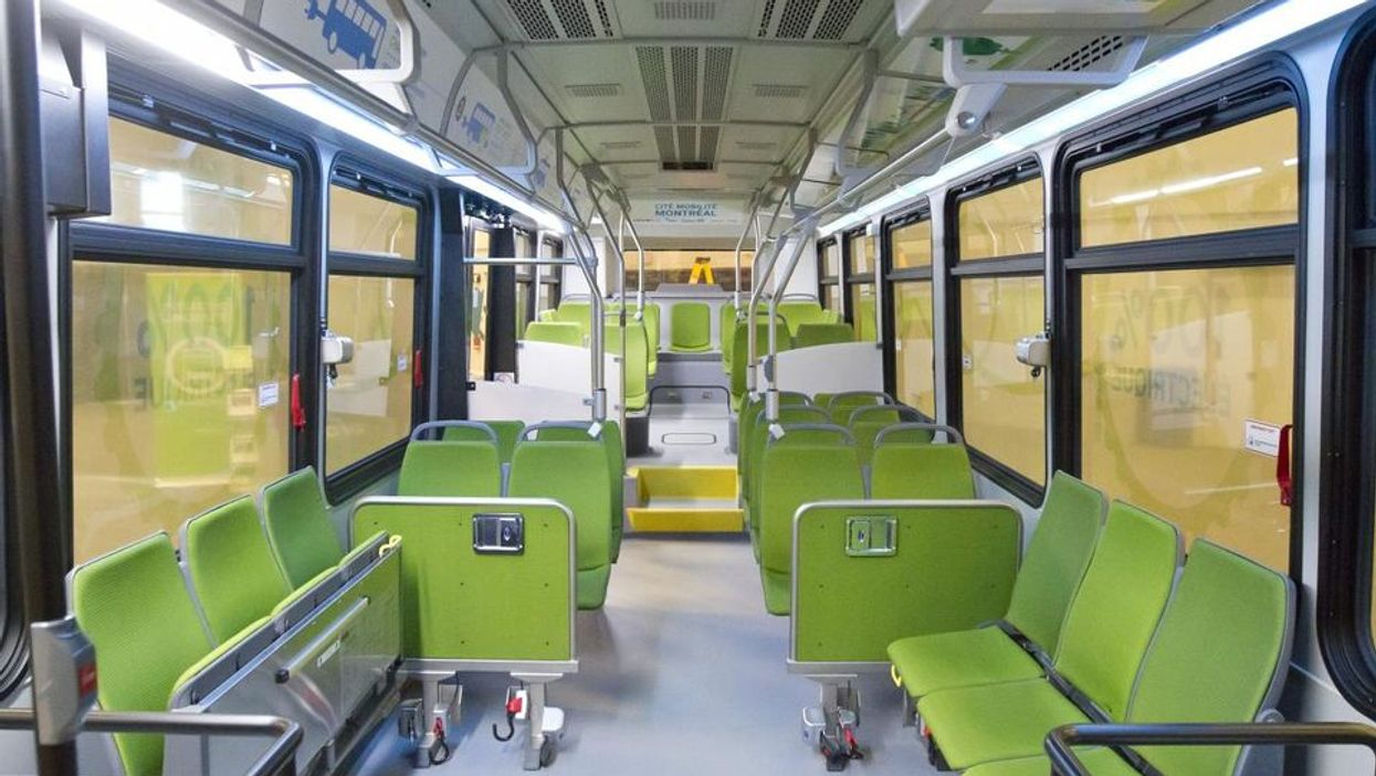 The STM's New 100% Electric Bus You'll Be Seeing On The Streets Of Montreal