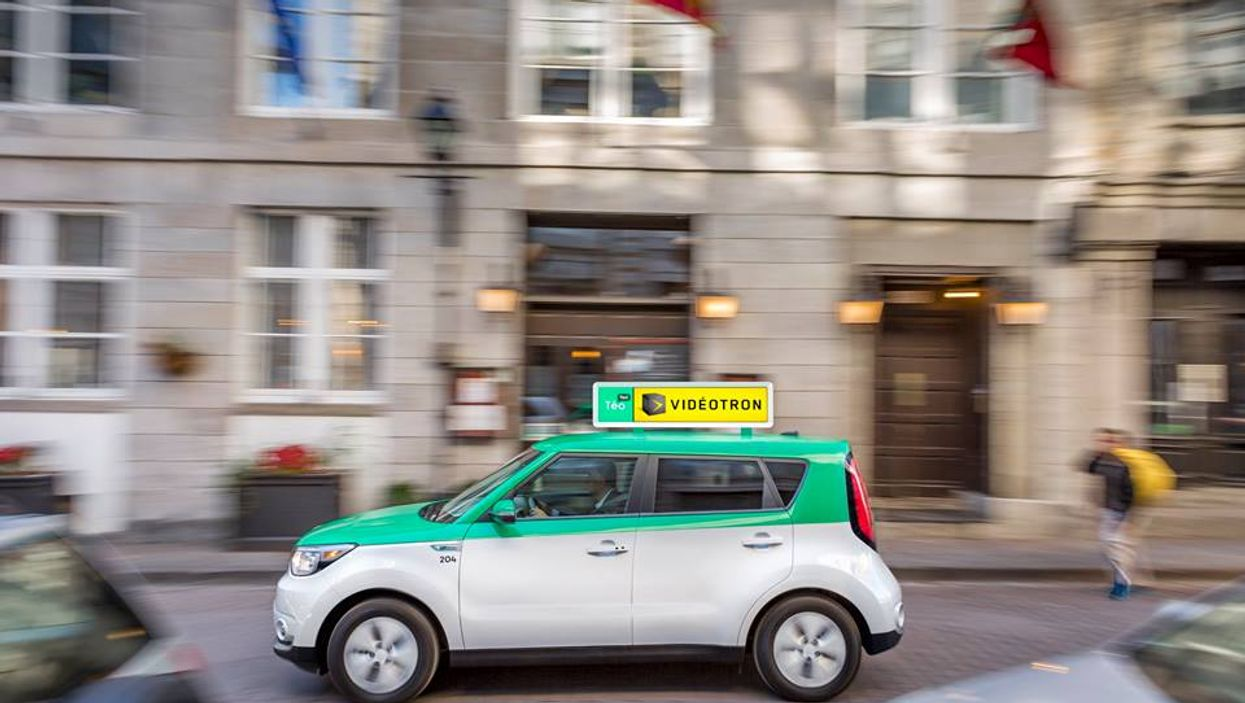 Montreal Is Getting An Entire Fleet Of Electric Taxis And You Can Be A Driver