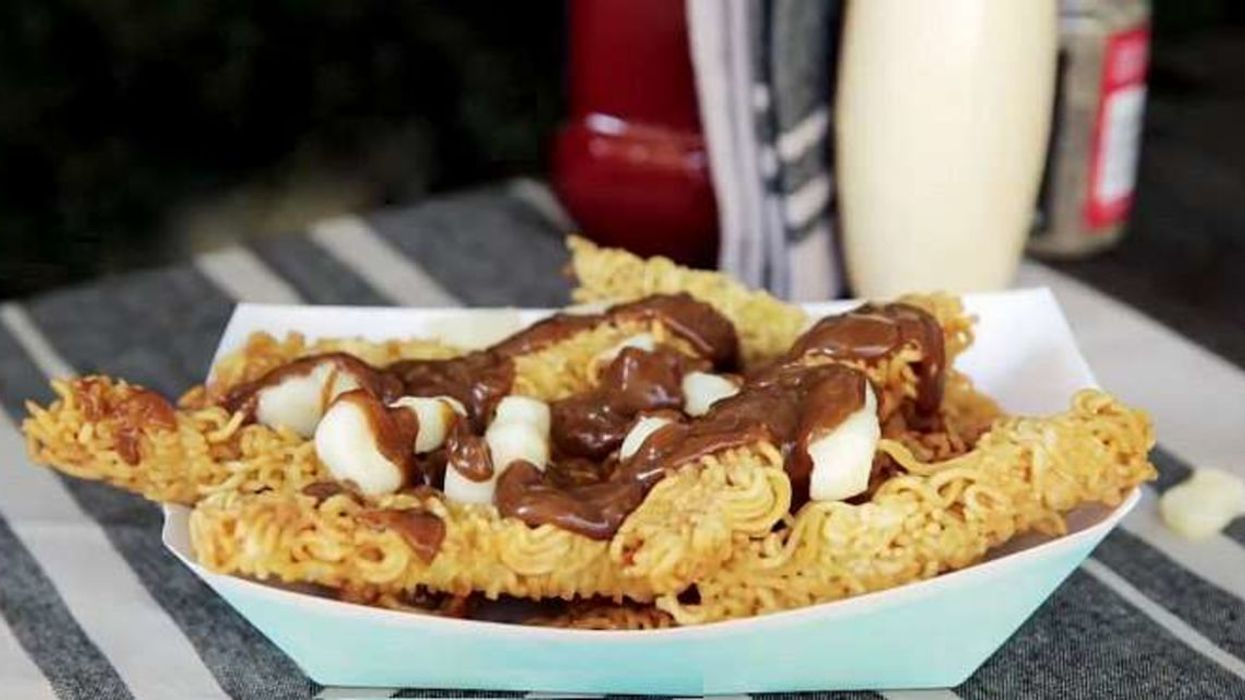 OMG! The Ramen Fries Poutine Now Exists