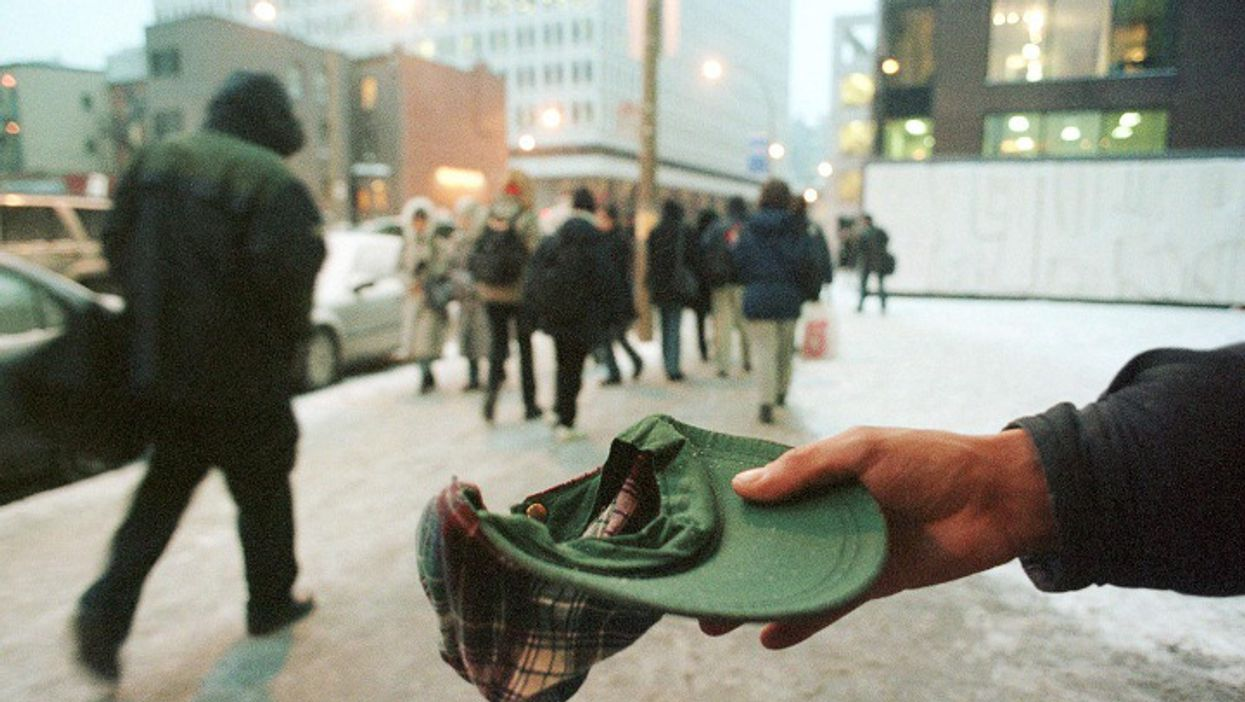 Montreal Beggar Outside Berri-UQAM Forced To Pay +$25, 000 To Quebec