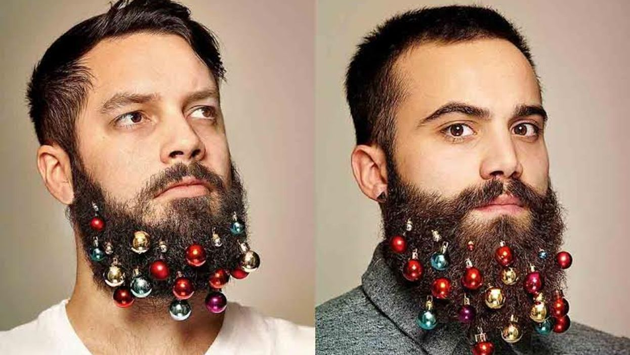 Montreal Men Should Decorate Their Beards For Christmas