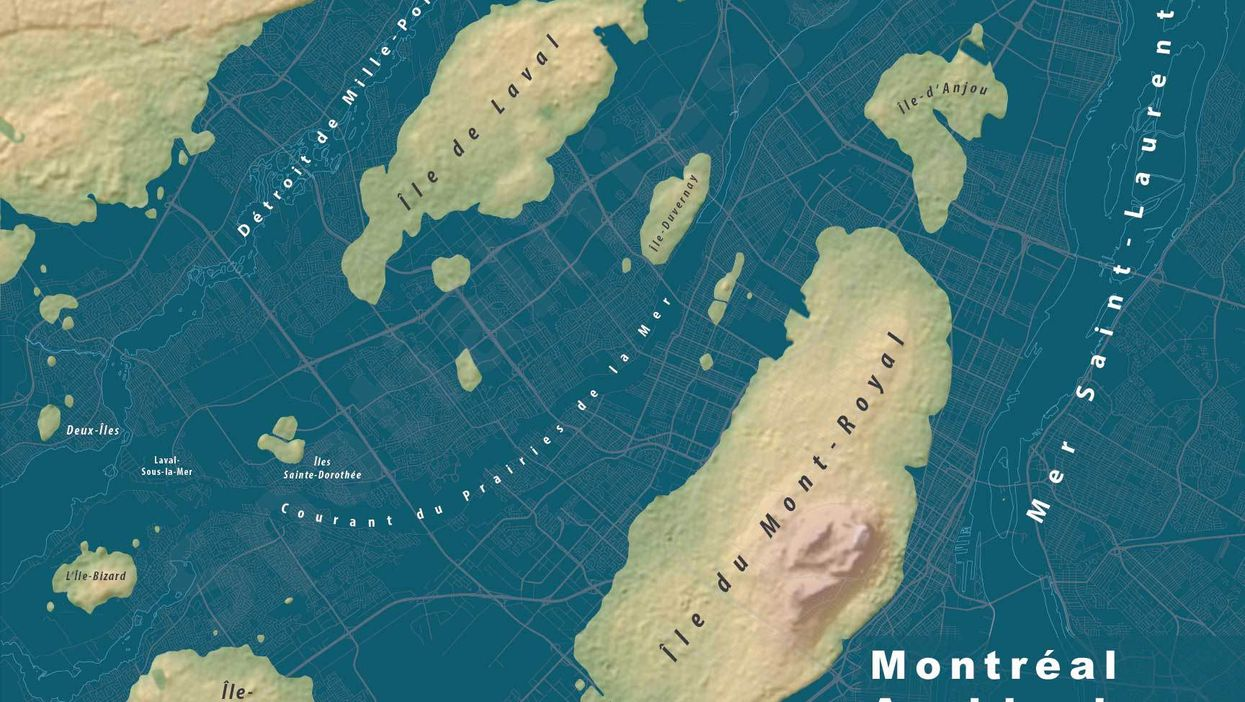 What Montreal Would Look Like If Sea Levels Rise Around The World