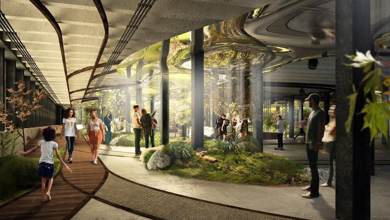 "Montreal's Underground City Needs An ""Underground Park"" Badly"