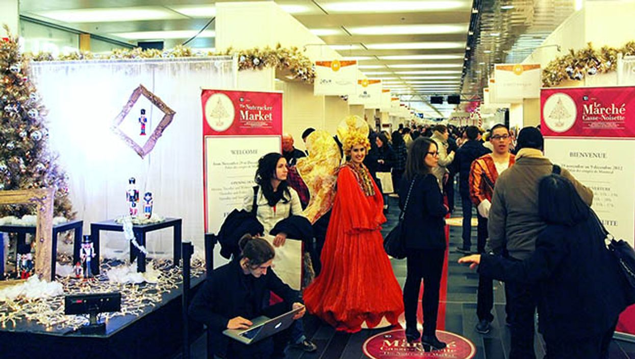"Montreal's 2014 ""Nutcracker Christmas Market"" At Palais Des Congrès Opens To The Public Today"