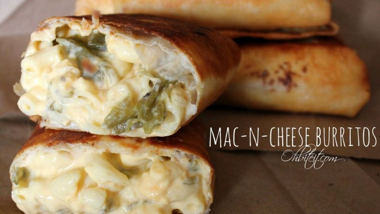 Mac 'N Cheese Burritos Are Real And Ready For You To Hate Yourself After Eating Them