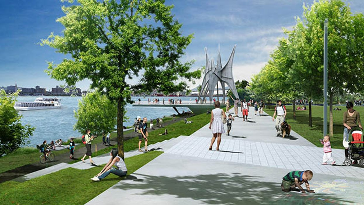 What Montreal's Parc Jean-Drapeau Could Look Like By 2017
