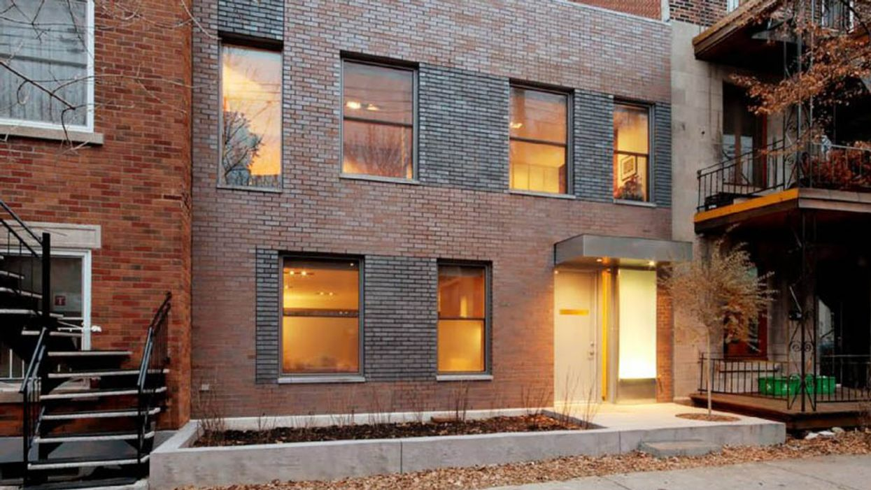 A Warm & Cozy Montreal Plateau House That Was Built In The Most Unlikely Of Places