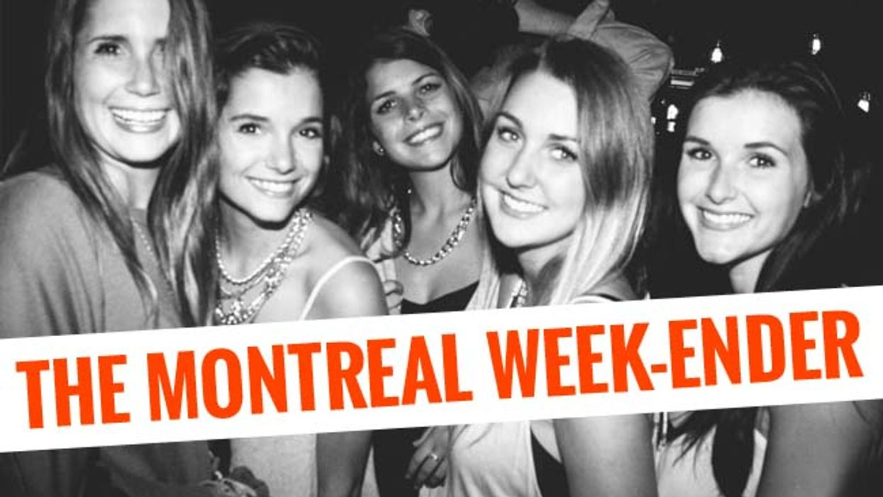 The Montreal Week-Ender: October 2nd - October 5th