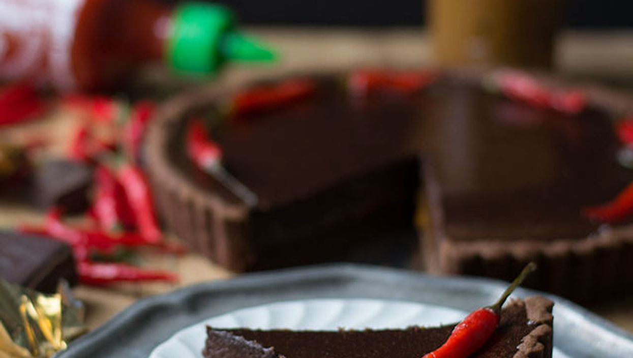 Sriracha + Chocolate = The Sriracha Chocolate Pie