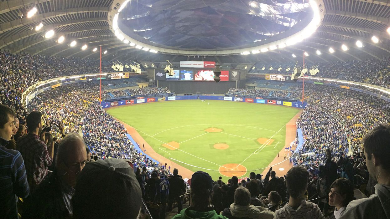 Montreal's Olympic Stadium Ranked #7 Worst Major League Baseball Stadium Of All Time