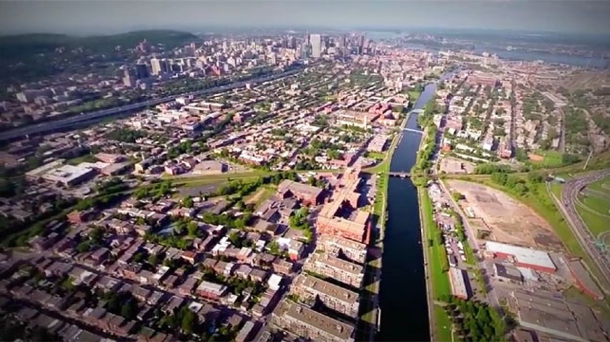 Montreal's Lachine Canal As Seen From The Eyes Of A Drone