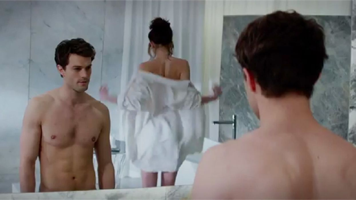 """The Very First """"50 Shades Of Grey"""" Official Movie Trailer Is Here"""