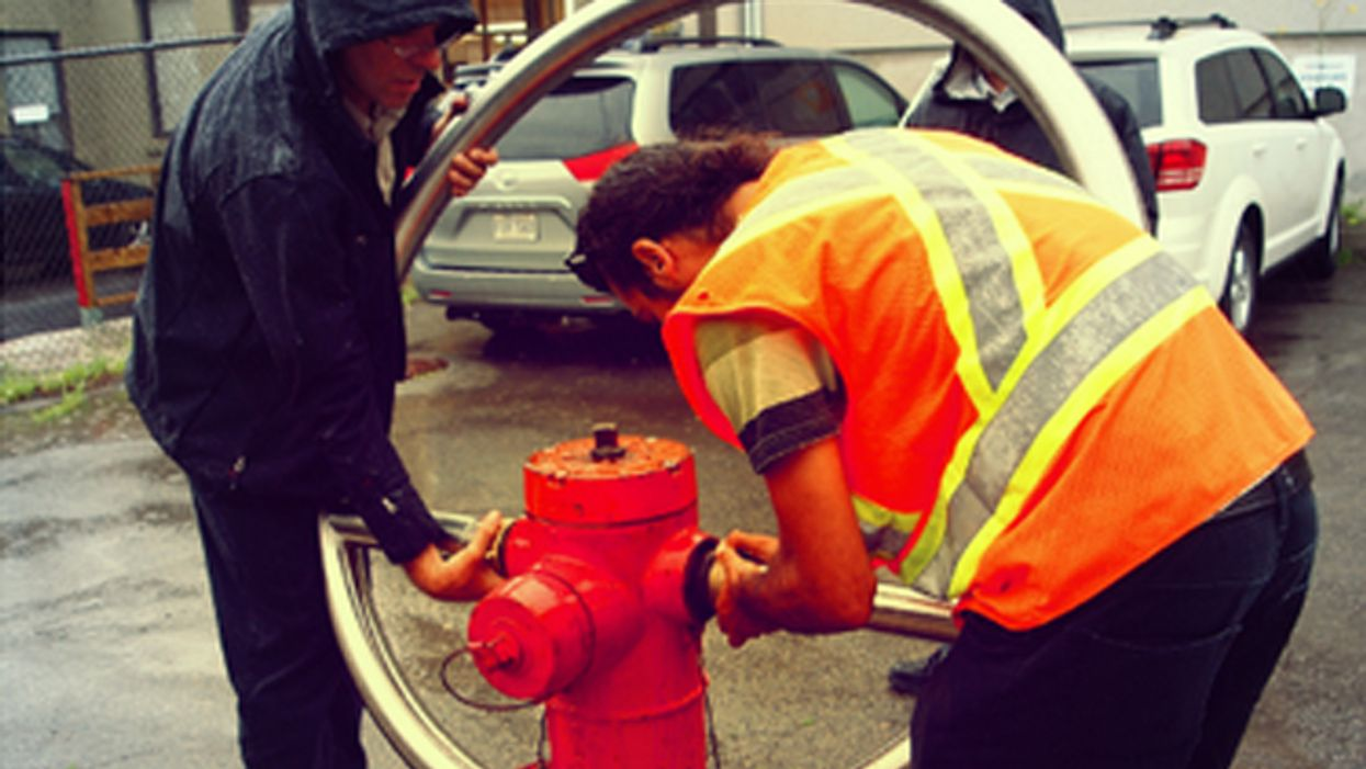 Montreal's Plateau Mont-Royal Fire Hydrant Water Fountains Have Already Been Removed