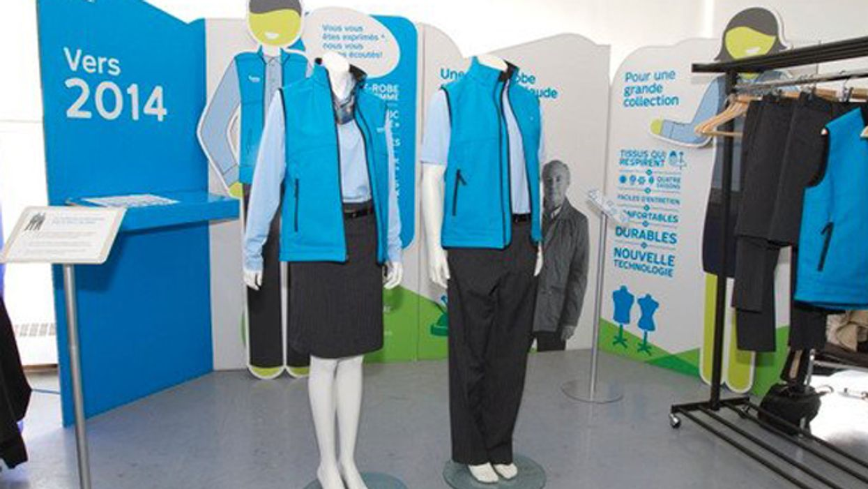 Montreal's STM Employees All-New Uniforms Revealed
