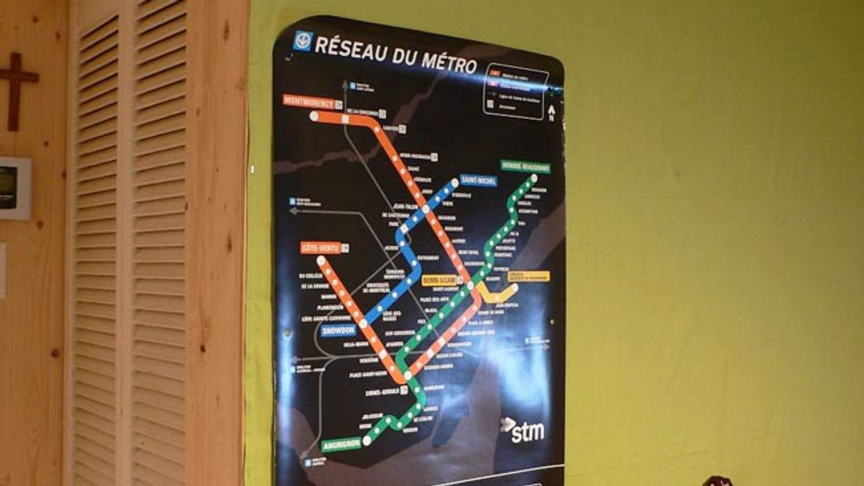 Montreal Metro Map Posters Are Now Available For Your Own Home For Free