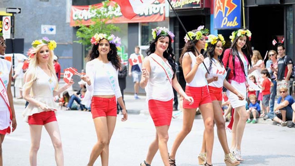 Montreal's 2014 Canada Day Parade Will Be Taking Over Saint-Catherine Street This year