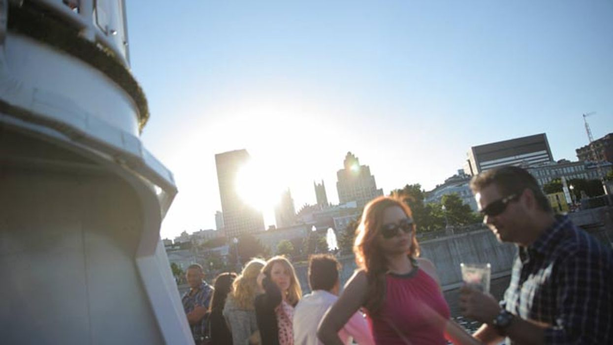 Montreal's Old Port Hosting Free Open Boat Summer Party Today
